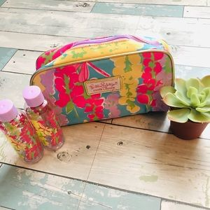 Lilly Pulitzer for Estée Lauder Cosmetic Case